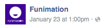 Funimation post time 1pm